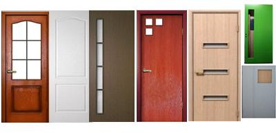 Купить двери деревянные облицованные плитой MDF/HDF