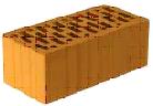 Кирпич керамический утолщенный пустотелый рядовой (СТБ-1160-99)