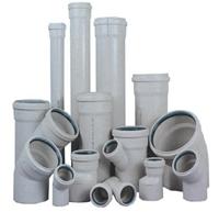 Трубы ПВХ и фитинги для внутренней канализации