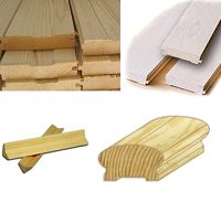 Фрезерованные изделия из дерева