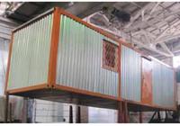Здания мобильные (инвентарные) контейнерного типа