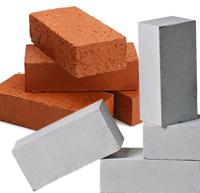 Кирпич керамический и силикатный